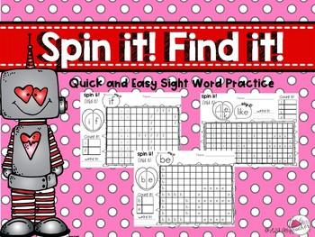 Sight Word Games Valentine's Day