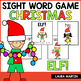Sight Word Games-Winter Bundle