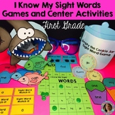 Sight Word Games and Center Activities (First Grade Dolch)