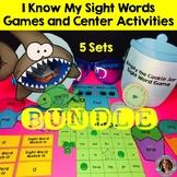 Sight Word Games and Center Activities Bundle (PreK-3rd Gr