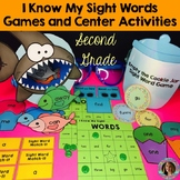 Sight Word Games and Center Activities (Second Grade Dolch)