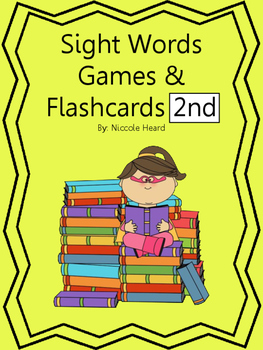 Sight Word Games and Flashcards 2nd Grade