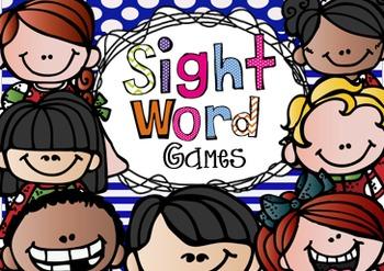 Sight Word Games for Kindergarten