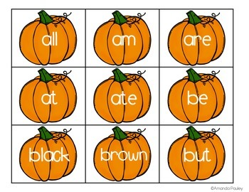 Sight Word Games {for the year} Primer Edition