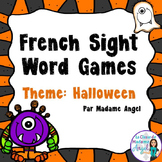 Sight Word Games in French with a Halloween Theme