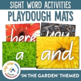 Sight Word Garden Playdough Mats