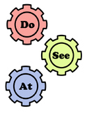 Sight Word Gears