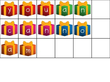 Sight Word Gift Tags