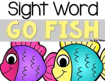 Sight Word Go Fish!