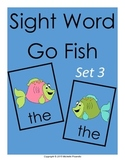 Sight Word Go Fish Set 3