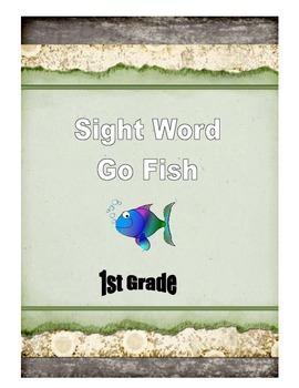Sight Word Go Fish: 1st Grade