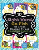 Sight Word Go Fish 1st Grade GROWING BUNDLE Reading Street