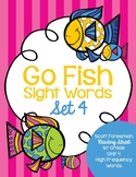 Sight Word Go Fish 1st Grade Set 4
