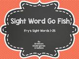 Sight Word Go Fish