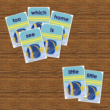 Sight Word Go Fish Card Game - Reading Literacy - Fine Motor - Social Emotional