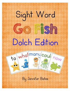 Sight Word Go Fish: Dolch Edition