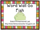 Sight Word Go Fish - Dolch Primer Word Complete  List