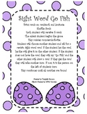 Sight Word Go Fish - Easter Edition 2