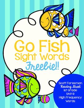 go fish sight words