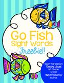 Sight Word Go Fish 1st Grade FREEBIE