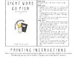 Sight Word Go Fish - Journey's Edition