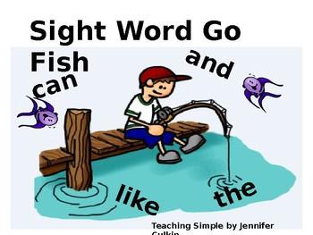 Sight Word Go Fish Level 1