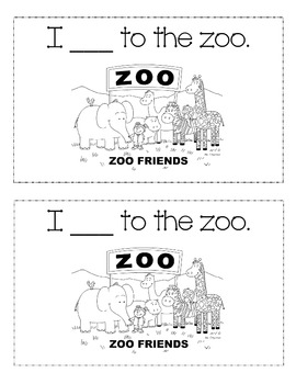Sight Word 'Go' book