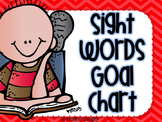 Sight Word Goal Chart Editable