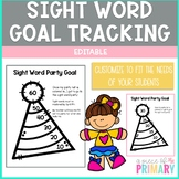Sight Word Goal Tracking