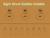 Sight Word Gobble Gobble-FREE