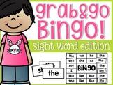 Sight Word Grab & Go Solo BINGO