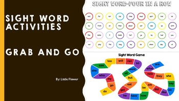 Sight Word- Grab and Go