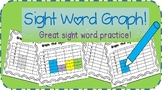 Sight Word Graph Activity