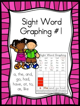 Sight Word Graphing #1