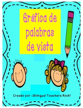 Sight Word Graph in Spanish