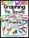 Sight Word Graphing BUNDLE (Pre-Primer, Primer and 1st Grade)