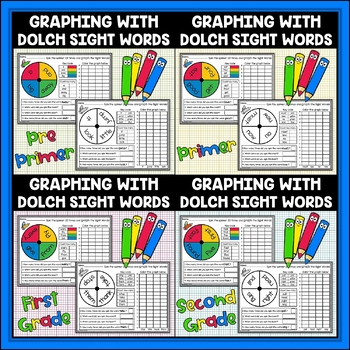 Dolch Sight Words Graphing Bundle
