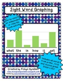 Sight Word Graphing ~Dolch Lists~
