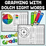 Sight Word Graphing Activity | 2nd Grade | Dolch List | Reading or Math Center