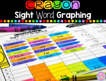 Sight Word Graphing {Compatible With First Grade Journeys}
