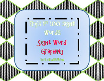 Sight Word Graphing- Fry's First 100