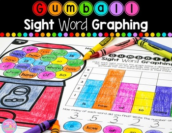 Sight Word Graphing {For Use With Kindergarten Journeys}