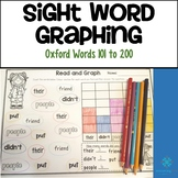 Sight Word Graphing - Oxford Word List 101 to 200