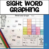 Sight Word Graphing - Oxford Word List 1 to 100