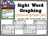Sight Word Graphing Second Grade Level