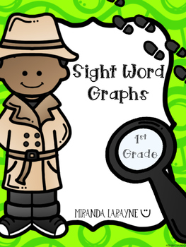 Sight Word Graphs - 1st Grade Dolch Words