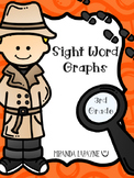 Sight Word Graphs - 3rd Grade Dolch Words
