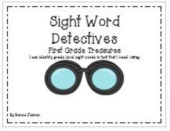 Sight Word Graphs: First Grade Treasures Unit 1-6