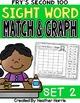 Sight Word Graphs: No Prep Cut and Paste {THE BUNDLE}