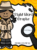 Sight Word Graphs - PrePrimer Dolch Words